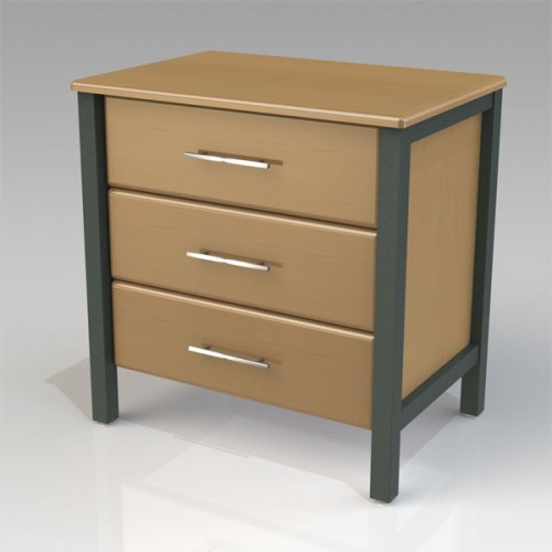 Dresser for hospital patient room, long-term care center.