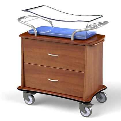 Newborn maternity bassinet developed at IWC.